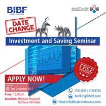 Investment and Saving Seminar