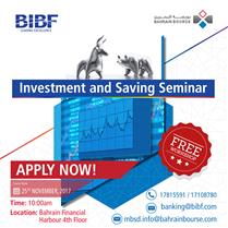 Investment and Saving Seminar