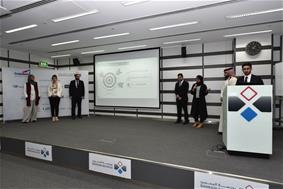 Universities TradeQuest Students Present their Financial Performance at the Bourse during the 1st Trading Period