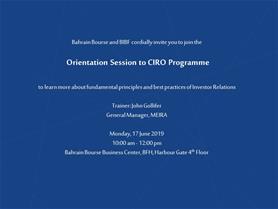 CIRO Programme