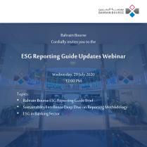 ESG Reporting Guide Updates Webinar