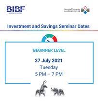 Investment & Savings Seminar – For Beginners