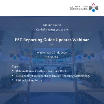 ESG Reporting Guide Updates Webinar