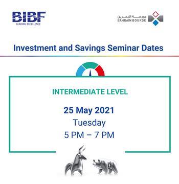 Investment & Savings Seminar - Intermediate