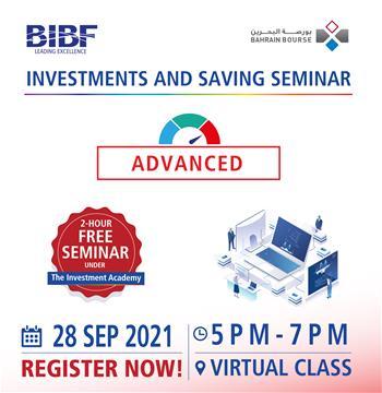 Investment & Savings Seminar - Advanced