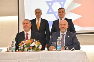 بورصة البحرين وبورصة إسرائيل للألماس توقعان مذكرة تفاهم